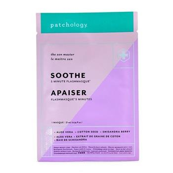 Patchology FlashMasque 5 Minute Sheet Mask - Soothe 4x21ml/0.74oz Skincare