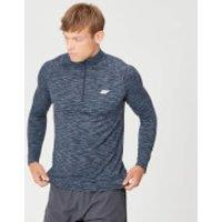 Image of MP Men's Performance 1/4 Zip Top - Navy Marl