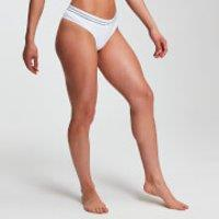 Image of MP Women's Essentials Seamless Thong - White - S
