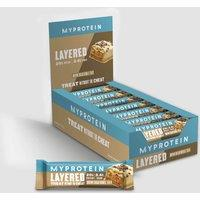 Image of Layered Protein Bar - 12 x 60g - Brown Sugar