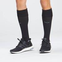 Image of MP Unisex Agility Full Length Socks - Black - UK 6-8