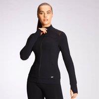 Image of MP Women's Power Mesh Slim Fit Jacket – Black - XL
