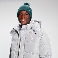 Image of MP Bobble Hat - Deep Teal/White