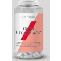 Image of Iron & Folic Acid Tablets - 90Tablets