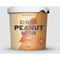 Image of All-Natural Peanut Butter - 1kg - Original - Smooth