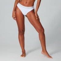 Image of MP Women's Essentials Thong - White (2 Pack) - L