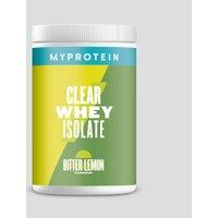 Image of Clear Whey Isolate - 20servings - Bitter Lemon