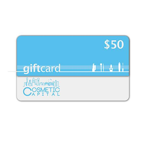 $50 E-Gift Voucher at Cosmetic Capital