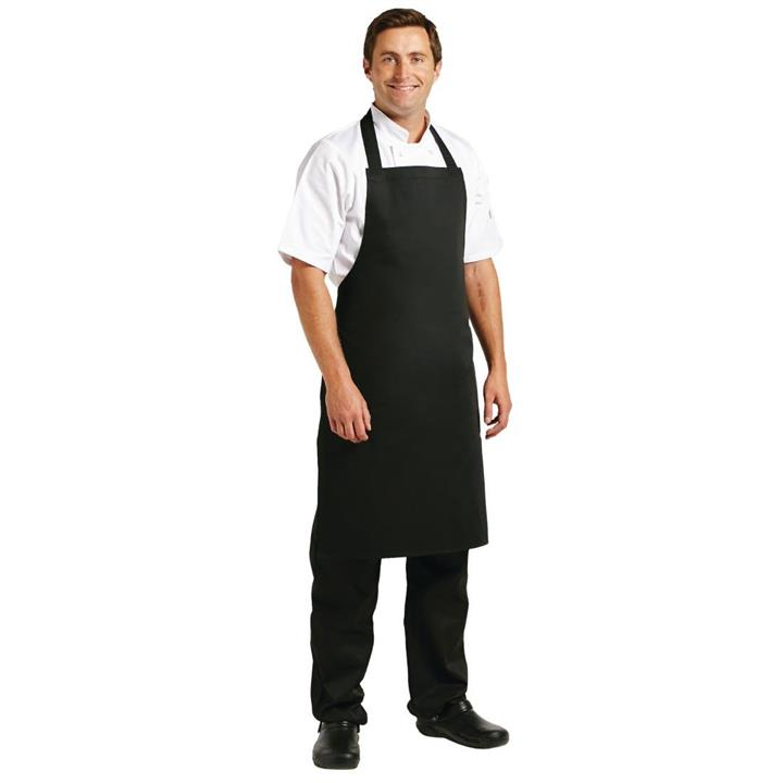 Image of Whites Bib Apron Black