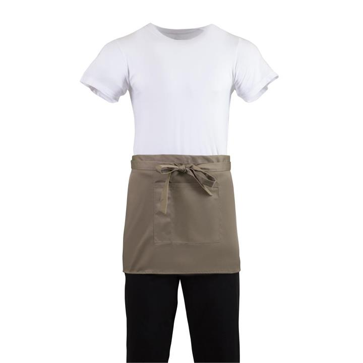 Image of Whites Bistro Waist Apron Tan