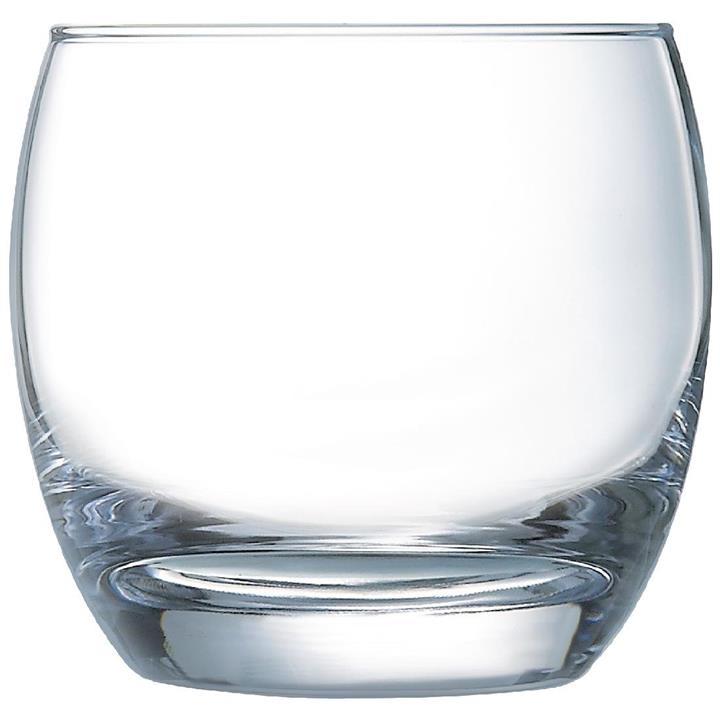 Image of Pack of: 6 Arcoroc Salto Tumblers 320ml Clear