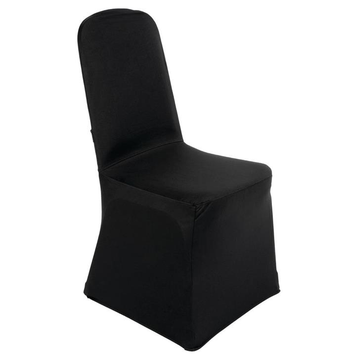 Image of Bolero Banquet Chair Cover Black