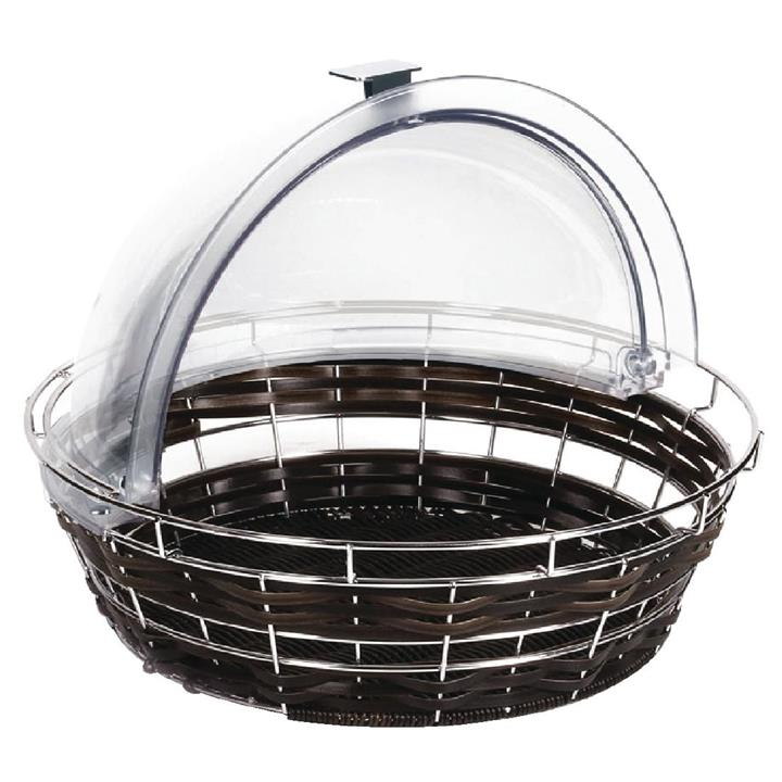 Image of APS APS Polyratten Basket with Frame Round