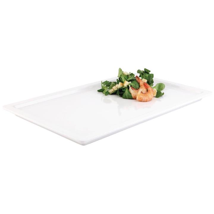 Image of APS APS Apart Melamine Tray White GN 1/1