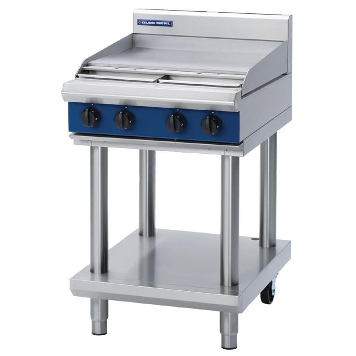Image of Blue Seal by Moffat Freestanding Natural Gas Cooktop Griddle G514B-LS