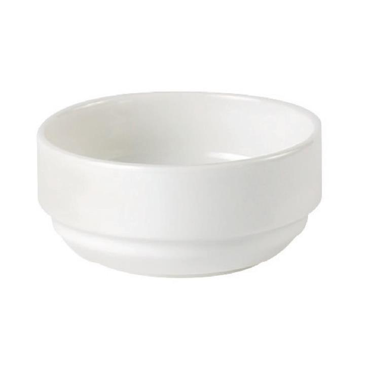 Image of Pack of: 12 Australian Fine China Flinders Stack Soup Bowl 115mm