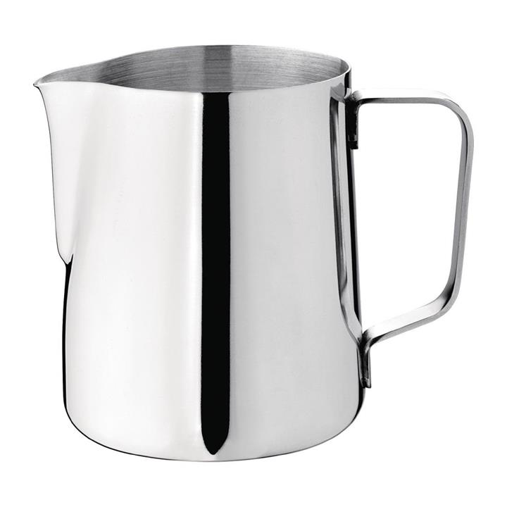 Image of Olympia Milk Jug Stainless Steel 340ml