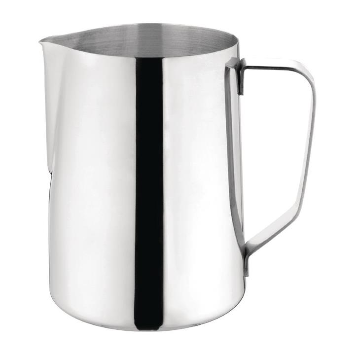 Image of Olympia Milk Jug Stainless Steel 1.35Ltr
