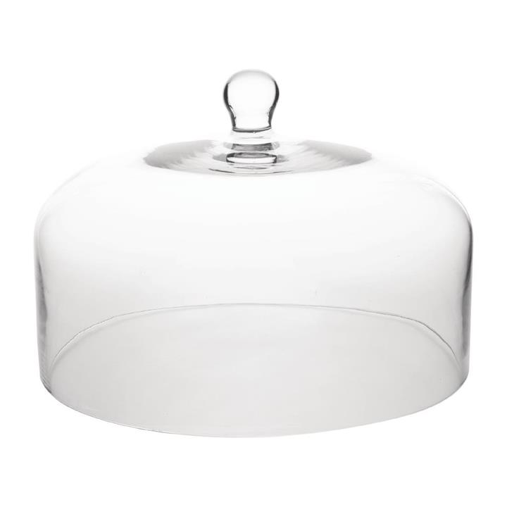 Image of Olympia Glass Cake Stand Dome