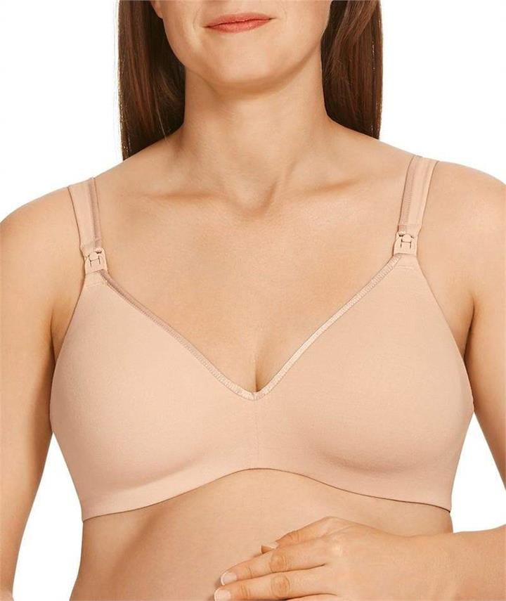 Berlei Barely There Cotton Rich Maternity Bra - Soft Powder 14F YZS9 Bra - Afterpay Available