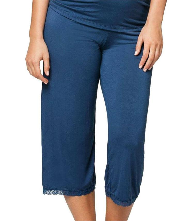 Cake Maternity Blue Berry Torte Lounge Pant - Blue S BBTP Afterpay Available