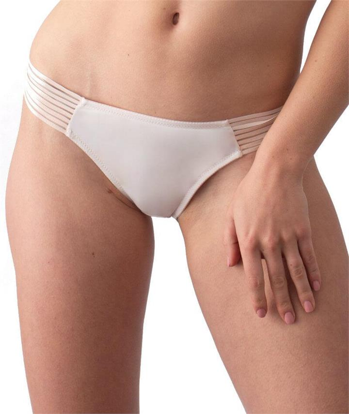 hotmilk Project Me Ambition Brazillian Brief - Shell Pink 12 PM-ABB Knickers Underwear Panties - Afterpay Available