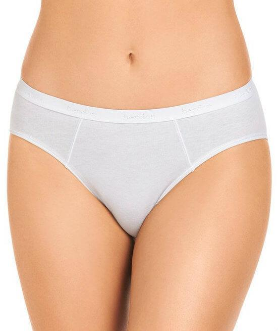 Bendon Body Cotton Bikini Brief - White M 15-534 Knickers Underwear Panties - Afterpay Available