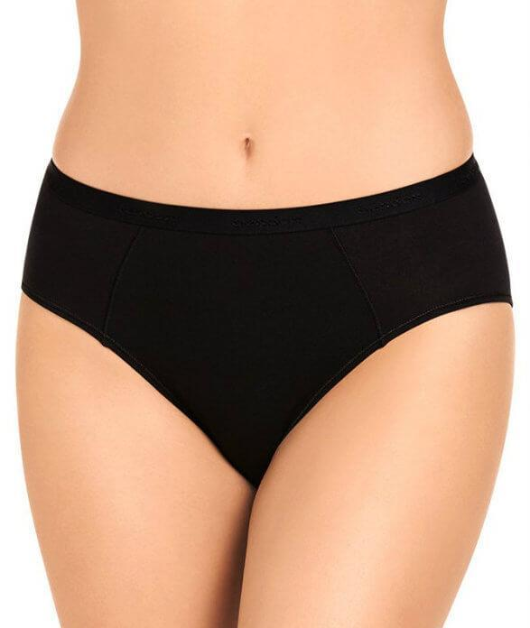 Bendon Body Cotton High Cut Brief - Black S 14-534 Knickers Underwear Panties - Afterpay Available