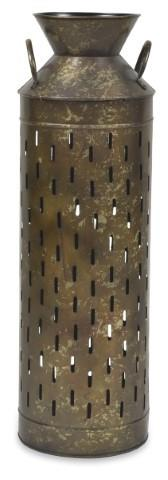 Image of Antique Bass Decor Vase Large - Antique Brass
