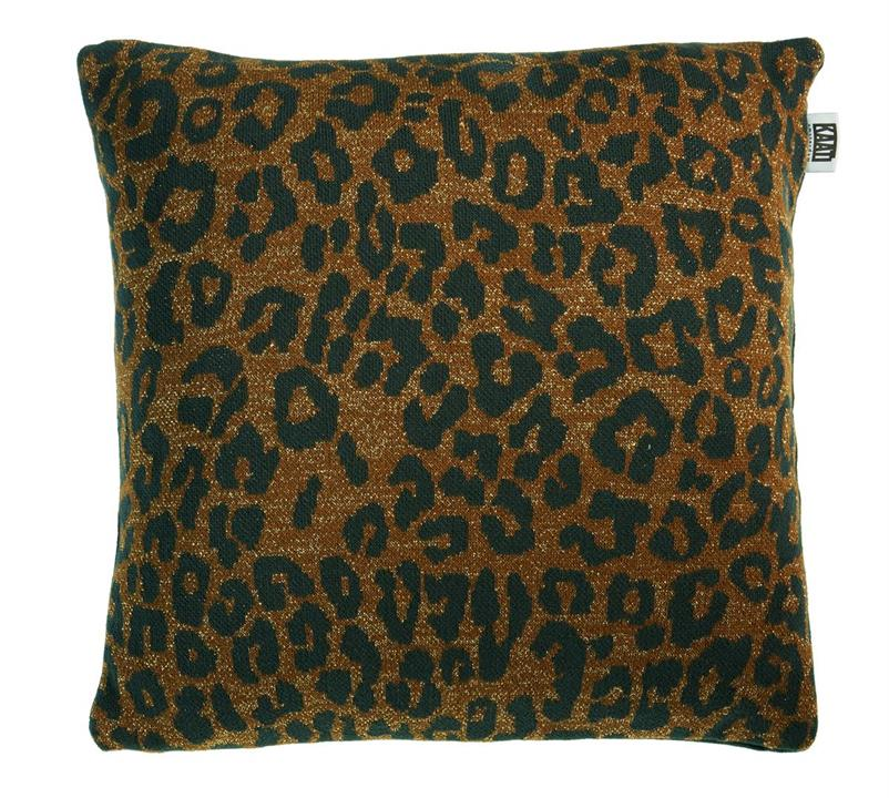 Image of Tigerlily Brown Cushion