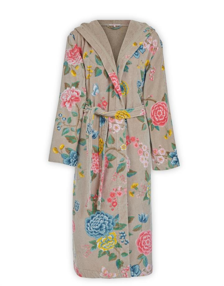 Image of PIP Good Evening Bathrobe Khaki - XXL