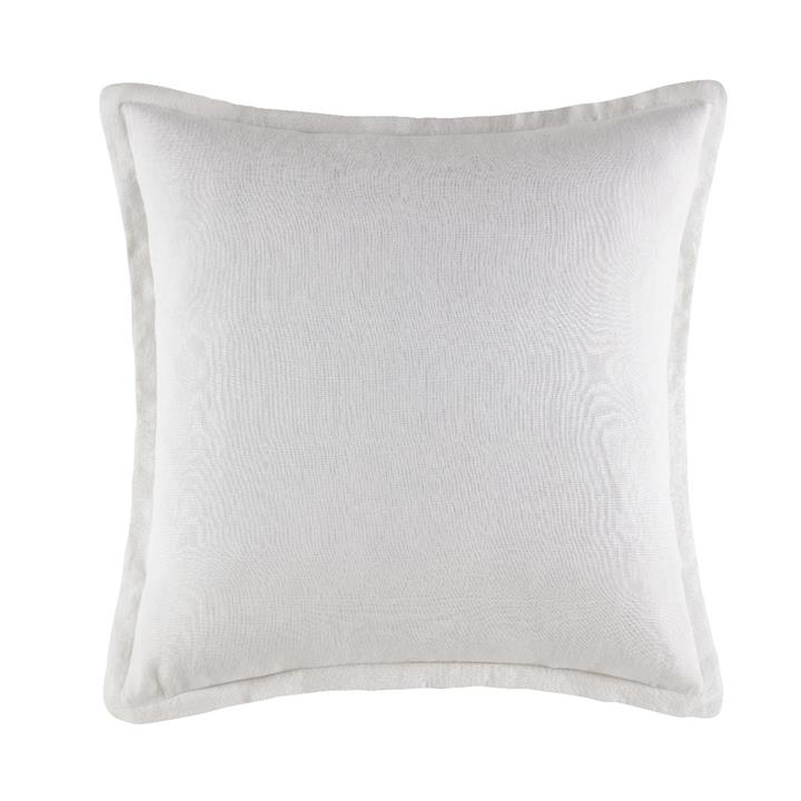 Image of Linen Cushion 50x50 - White Square