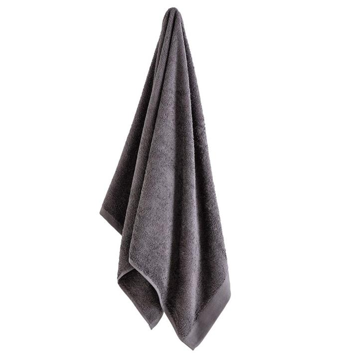 Image of Como Bath Towel - Charcoal