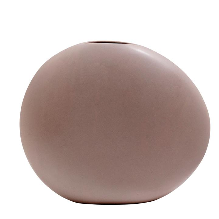 Image of Cobble Vase - Taupe Large