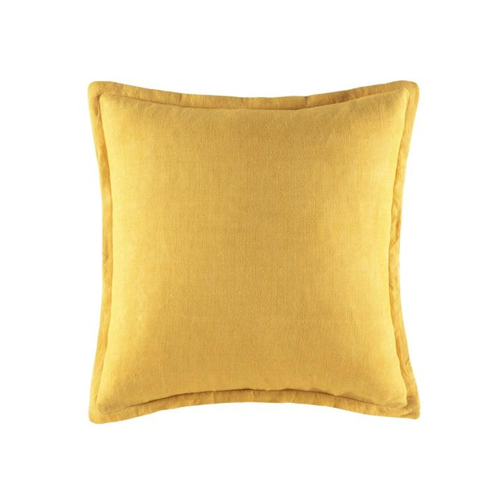 Image of Linen Cushion 50x50 - Wattle Square