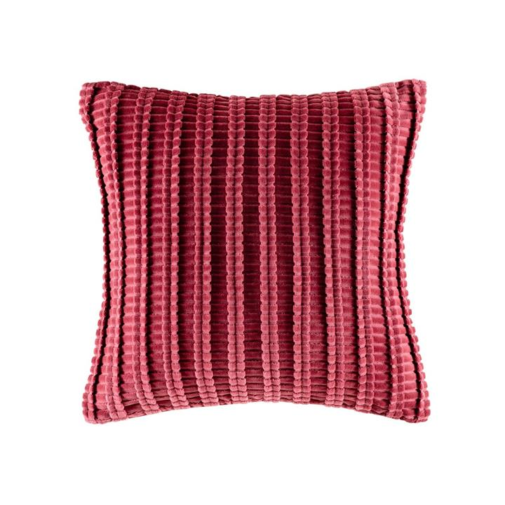 Image of Casita Velvet Cushion 50x50 - Wine Square