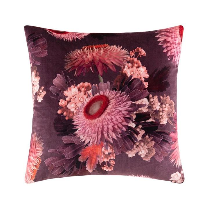 Image of Sophie Cushion - Wine Square
