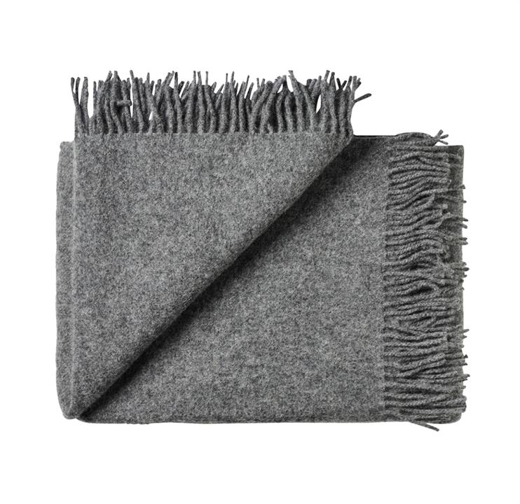 Image of Nevis Throw - Charcoal