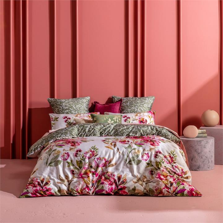 Image of Taneya Quilt Cover Set - Multi Queen