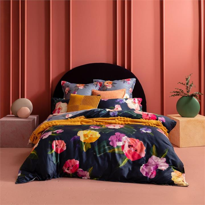 Image of Kelisa Quilt Cover Set - Multi Queen