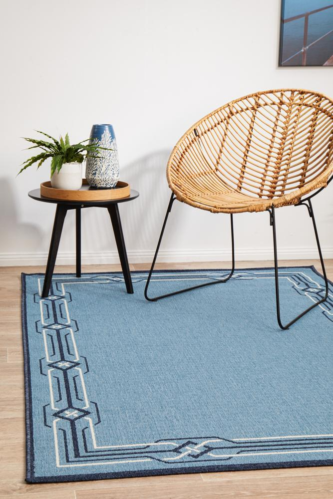 Image of Seaside Blue Rug 220X150CM