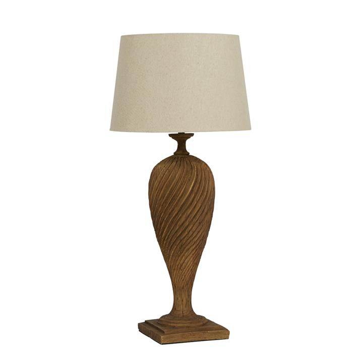 Image of Antoine Tall Resin Lamp with Shade