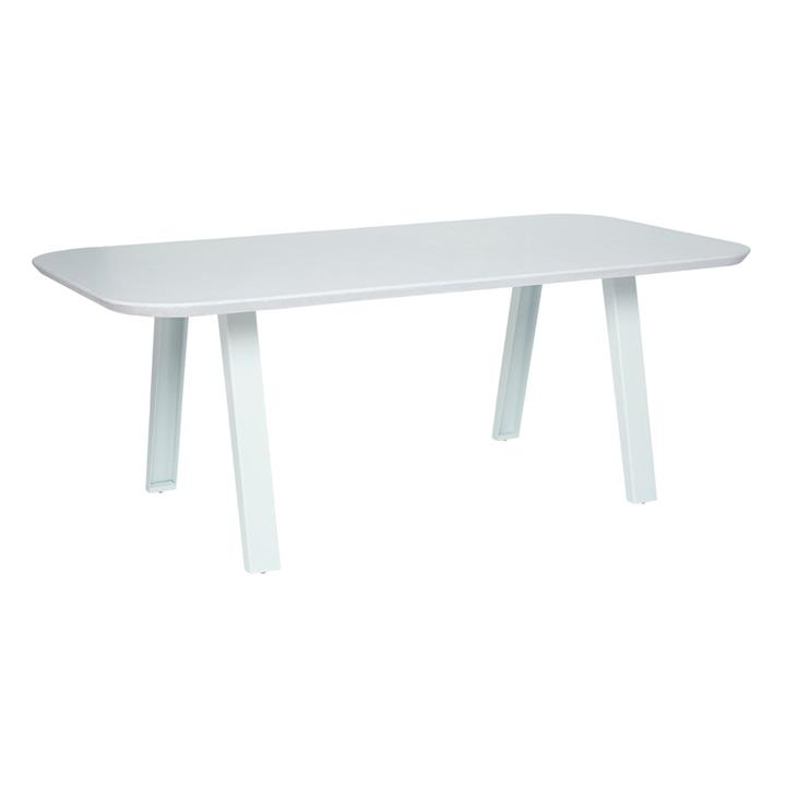 Image of Sterling White Outdoor Table 200X100X71