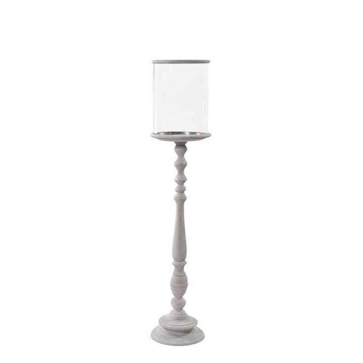 Image of Natural Xlarge Hurricane Candle Holder