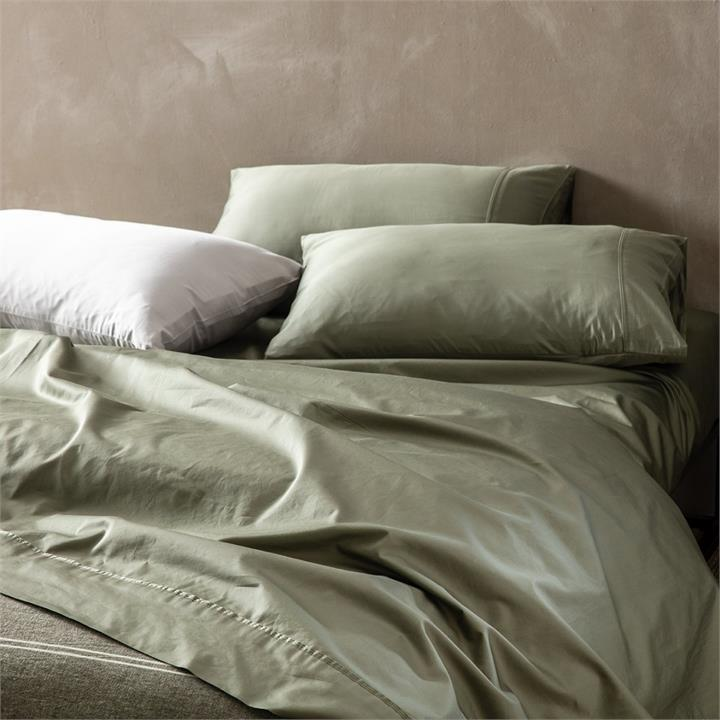 Image of Kas Sheet Set King - Olive King