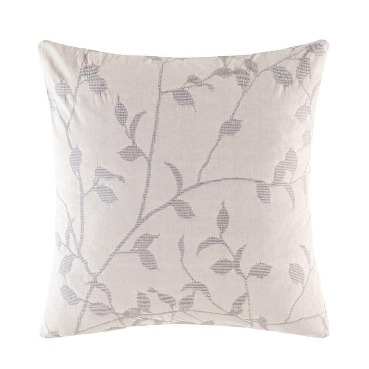 Image of Ophelia Euro Pillowcase - Silver Square