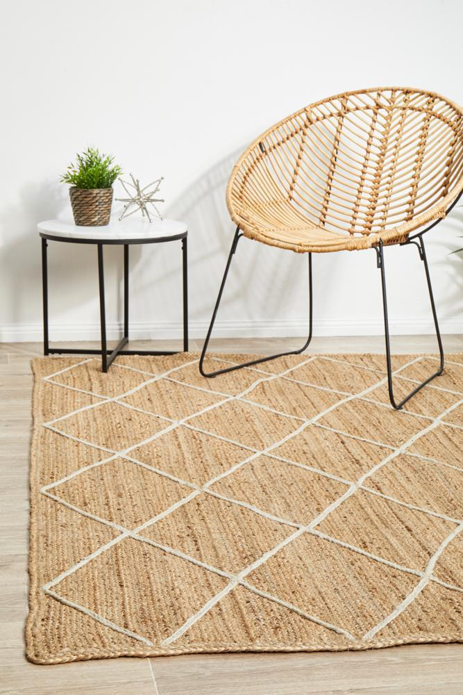 Image of Noosa 222 Natural Rug - 400X300CM