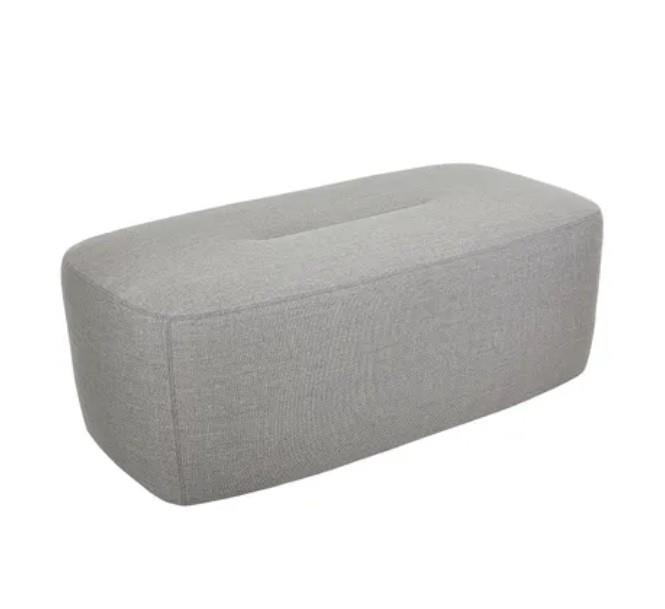 Image of Felix Ottoman In Soft Grey