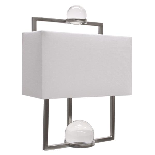 Image of Harper Metal Glass Wall Lamp on Special