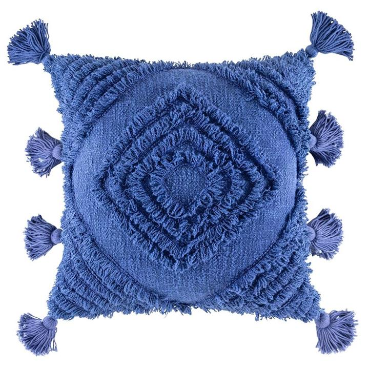 Image of Daffie Cushion - Blue Square
